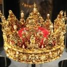 výstava dánských korunovačních klenotů - zámek Rosenborg