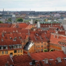 Dánské červené střechy - Kodaň