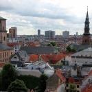 Pohled z věže ze 17. století - Kodaň