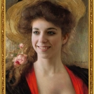 """Fotomontáž obrazu od Alberta Lynche, více o fotomontáži naleznete v <a href=""""http://malebno.cz/originalni-fotomontaze-tvare-studentu-v-historickych-obrazech/"""">tomto příspěvku</a>. <br> Photomontage of a painting by Albert Lynch, more in <a href=""""http://malebno.cz/en/originalni-fotomontaze-tvare-studentu-v-historickych-obrazech/"""">this post</a>."""