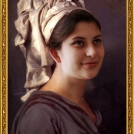 """Fotomontáž <b>Portrétu mladé ženy v turbanu</b>, autorem je Jacques-Louis David, více o fotomontáži naleznete v <a href=""""http://malebno.cz/originalni-fotomontaze-tvare-studentu-v-historickych-obrazech/"""">tomto příspěvku</a>. <br> Photomontage of <b>Portrait of a young Woman in a Turban</b> by Jacques-Louis David, more in <a href=""""http://malebno.cz/en/originalni-fotomontaze-tvare-studentu-v-historickych-obrazech/"""">this post</a>."""