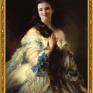 "Fotomontáž <b>Portrétu Madame Barbe de Rimsky-Korsakov</b>, autorem je Franz Xaver Winterhalter, více o fotomontáži naleznete v <a href=""http://malebno.cz/originalni-fotomontaze-tvare-studentu-v-historickych-obrazech/"">tomto příspěvku</a>. <br> Photomontage of <b>Portrait of Madame Barbe de Rimsky-Korsakov</b> by Franz Xaver Winterhalter, more in <a href=""http://malebno.cz/en/originalni-fotomontaze-tvare-studentu-v-historickych-obrazech/"">this post</a>."