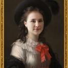 """Fotomontáž <b>Autoportrétu</b> od Élisabeth Vigée-Lebrun, více o fotomontáži naleznete v <a href=""""http://malebno.cz/originalni-fotomontaze-tvare-studentu-v-historickych-obrazech/"""">tomto příspěvku</a>. <br> Photomontage of <b>Self Portrait</b> by Élisabeth Vigée-Lebrun, more in <a href=""""http://malebno.cz/en/originalni-fotomontaze-tvare-studentu-v-historickych-obrazech/"""">this post</a>."""