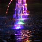 Hra světla a vody