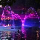 Hra vody a světel
