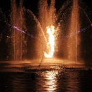 Vodní světelná show - snoubení ohně a vody