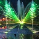 Dánský zábavní park - světelná show
