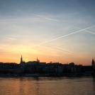 Západ Slunce v Maďarsku - Budapešť