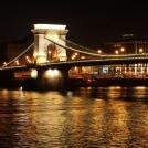Nasvícený most - Budapešť
