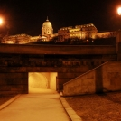 Podchod a hrad v Budapešti