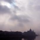Budapešť v mlze