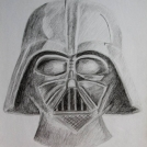 Darth Vader - kresba tužkou