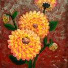 "Akrylová malba jiřiny - celý článek, včetně fotografií z průběhu malby najdete <a href=""http://malebno.cz/malba-akrylovymi-barvami-malovani-detailu-kvetiny/"">zde</a>"