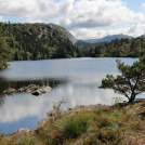 Norské horské jezero