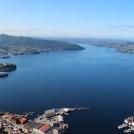 Bergen - výhled z hory Stolzekleiven