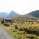 Krajina v More og Romsdal - pod vrcholem hory Lauparen