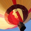 """Horkovzdušný balón z Balonového létání v Bělé pod Bezdězem - více v <a href=""""http://malebno.cz/horkovzdusne-balony/"""">následujícím příspěvku</a>"""