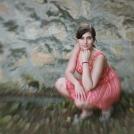 """Portrét focený kreativním Lensbaby objektivem - více o focení těchto portrétů a další fotografie najdete v <a href=""""http://malebno.cz/jak-jsem-fotila-snove-portrety-s-lensbaby/"""" >tomto příspěvku</a>"""