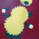 Postup malby jiřiny akrylem