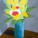 Malba stínu a modelace vázy