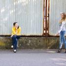 Dvě kamarádky - společný portrét