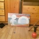 Rozdělaná malba