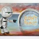 Malba Marvina ze Stopařova průvodce po galaxii