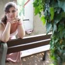 Portrét na lavičce