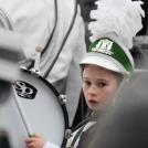 Zelené Irsko - malý účastník průvodu - bubeník