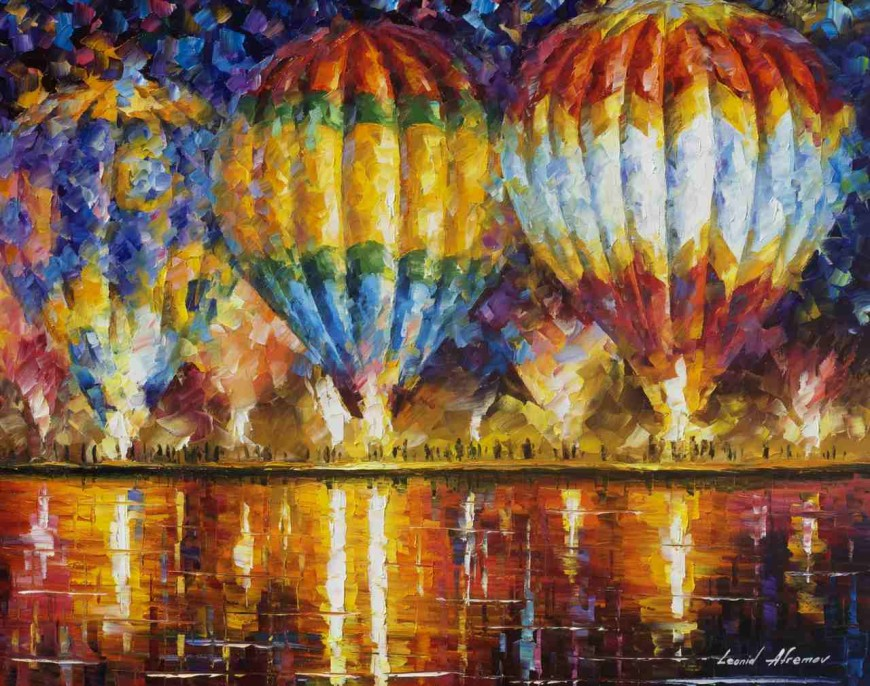 AFREMOV, Leonid. Leonid Afremov - World Renown Artist [online]. [cit. 29.1.2016]. Dostupný na WWW: https://afremov.com/BALLOON-REFLECTIONS-3-Original-Oil-Painting-On-Canvas-By-Leonid-Afremov-24-X30.html
