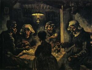 Jedlíci brambor - Vincent van Gogh