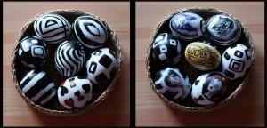 Velikonoční vajíčka ve stylu Tima Burtona
