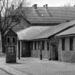Budovy v koncentračním táboře Osvětim