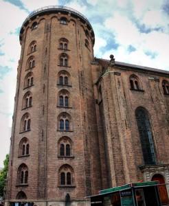 observatoř - věž Rundataarn (Roundtower), Dánsko, Kodaň