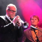 Swingová kapela hrála v dánském zábavním aprku Tivoli