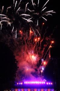 Velkolepý ohňostroj - úžasná podívaná