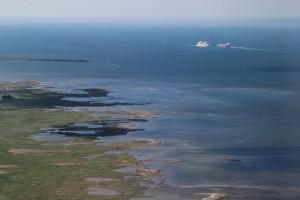 pobřeží Dánska