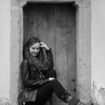 Upírsky laděný portrét - portrétní fotografie