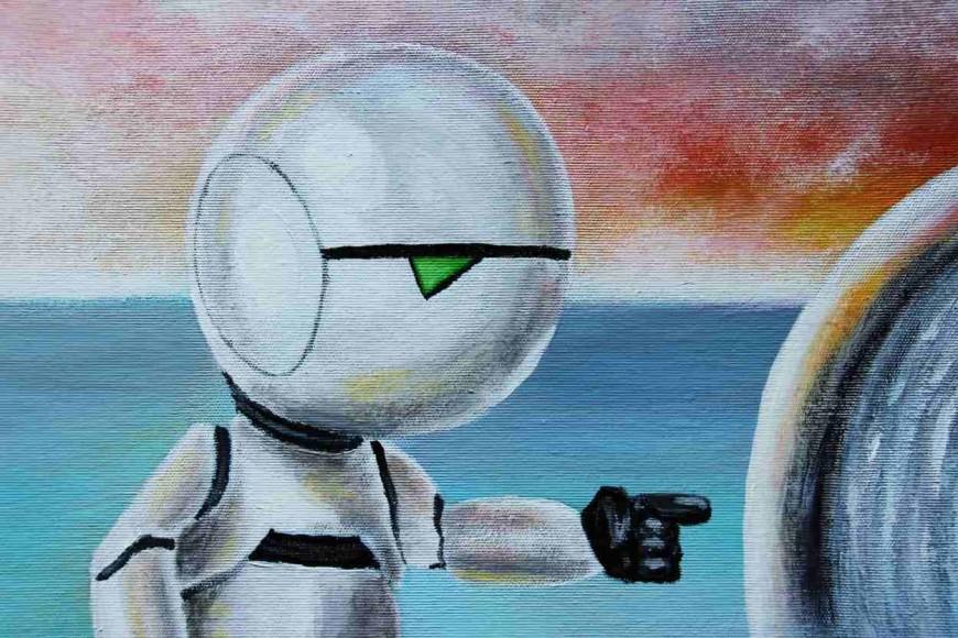 fan art tvorba ze Stopařova průvodce po galaxii