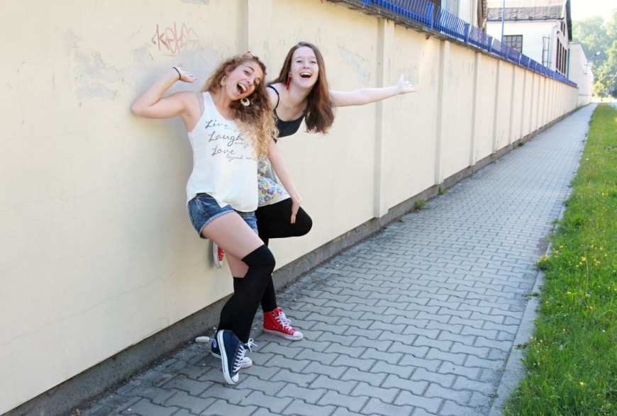 Bláznivé kamarádky - portrét