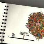 Skicák - kresba ve sketchbooku