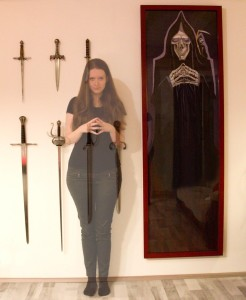 Malba Smrtě na zdi, Tereza Preislerová