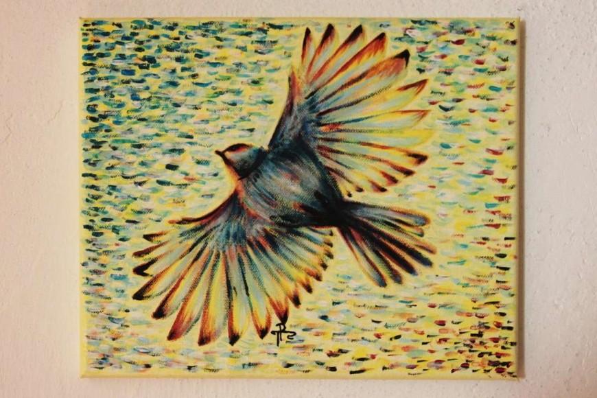 Tereza Preislerová - ptáček v letu