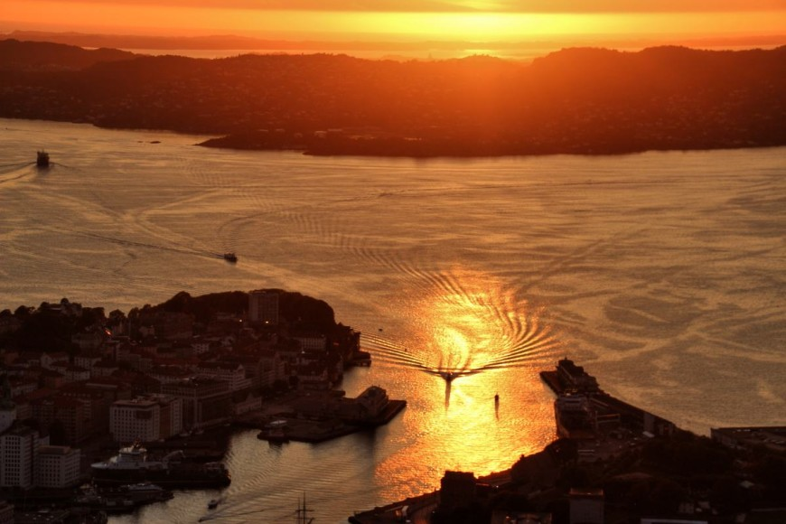 Bergen - město mezi sedmi horami, fotografie Tereza Preislerová
