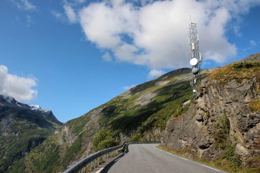 Norská silnice - cesta na Geiranger