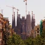 Katedrála Sagrada Família ve Španělské Barceloně